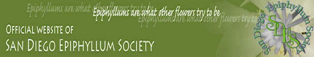 San Diego Epiphyllum Society, Inc.
